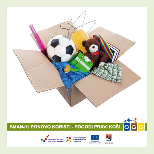 """23.11. - događanje """"SMANJI I PONOVO KORISTI - POGODI PRAVI KOŠ"""""""